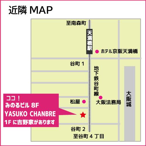 桜アビスティ近隣マップ